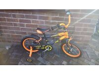 """Strike 16 - 16"""" boy's bike, used but only just!"""