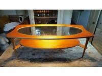 1950's 1960's vintage retro coffee table