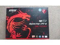 MSI GE62 6QF Professional Gaming Laptop *never used*
