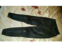 Dainese dianese leather trousers size 10