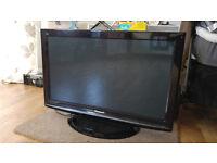 Panasonic TX-P37X10B 37-inch Widescreen HD Ready Plasma TV with Freeview