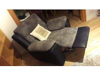 Free x1 seater sofa - spring repair needed easy to put in car as back comes off !