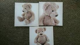Bear canvases