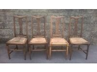 Wooden Chairs (four)