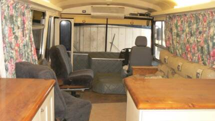 Bedford Bus Mobile Home Motorhome Fully Decked Out Lurg Benalla Area Preview
