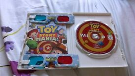 Nintendo wii game. Toy story mania 3D