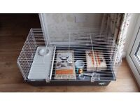 Large indoor rabbit guinea pig cage hutch