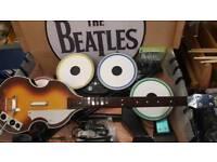 Xbox 360 Beatles rock band