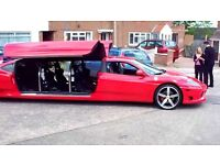 LIMO HIRE FROM £100,HORSE AND CARRIAGE HIRE,WEDDING CAR HIRE,PHANTOM HIRE,SUPERCAR HIRE,HELICOPTER