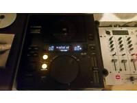 Pioneer dj500 x2 and mixer