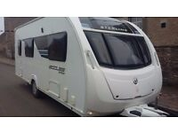 ***** swift sterling eccles sport 524SR 4 berth caravan with mover 2013 *****