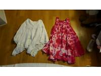 Girls Skirt and Dress. Aged 6. 2x Pieces
