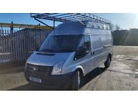 FORD TRANSIT T350 LWB HIGH ROOF 2.2 TDCI 13 REG 128.000 MILES WARRANTED SERVICE HISTORY.