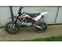M2r crf70 140cc pit bike