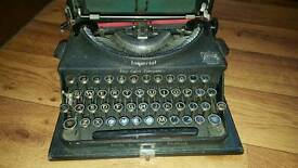 Imperial typewriter - the good companion