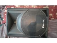 QTX QTS12A POWERED PA SPEAKER/MONITOR (One)