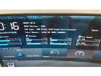 ASUS M5A97 R2.0 m/board +amd fx 8350 8 core +16gb corsair ram +ssd drive
