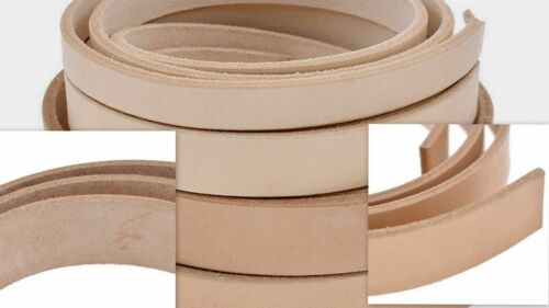 VegTan Tooling Cow Leather Belt Blanks,StripsTHICKNESS 3/4- 5/6-8/9-9/10-11/12OZ