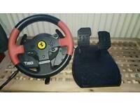 Thrustmaster T150 ps4 wheel