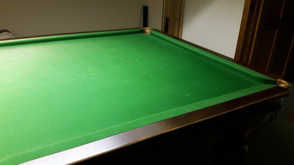 10ft Snooker Table With Accessories Includiung Lighting Cues Etc In Launceston Cornwall Gumtree