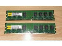 2GB 2XR8 PC2-6400U 555 PC RAM