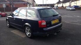 Audi Avant 1.8 T 5 door Estate blue MOT