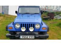 jeep wrangler tj 1999. 53k