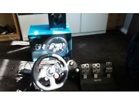 Logitech G29 and shifter for PS4 and PC