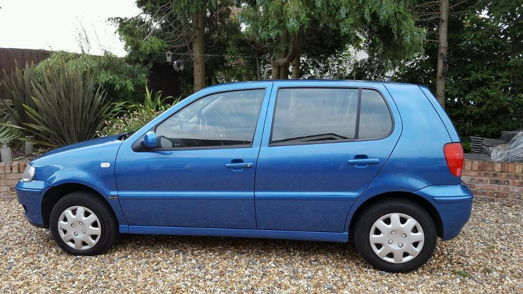 Spares Or Repairs Blue 2000 Vw Polo Match In Telford