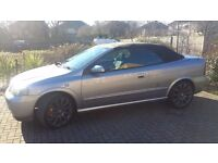 Vauxhall Astra Softtop Convertible Silver Service History