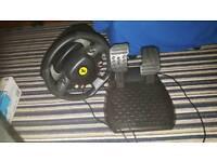 X box 360 steering wheel