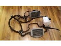 Vespa gts 125 200 300 black various parts for sale wheels panels loom light indicators etc