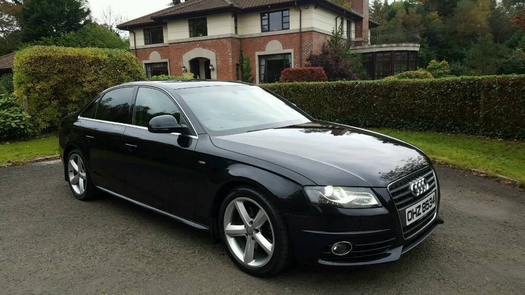 2008 audi a4 2 0tdi s line b8 mmi radio xenons privacy glass in dunmurry belfast. Black Bedroom Furniture Sets. Home Design Ideas