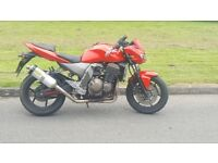 Kawasaki z750 low mileage for age. 3k ono