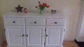 Handsome Vintage Pine Upcycled Sideboard