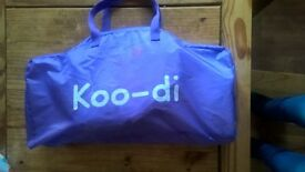 Koodi pop up travel cot 6 to 18 months