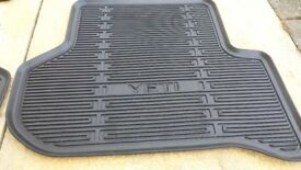 Genuine Skoda Yeti car mats.