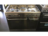 90CM STAINLESS STEEL SMEG GAS COOKER