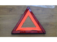 Brand new car Warning Triangle Kirkcldy (Audi BMW Mercedes VW Astra Golf Corsa Kia Skoda Saab Tdi)