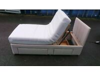 TEMPUR Single electric bed with mattress and headboard. Immaculate condition!