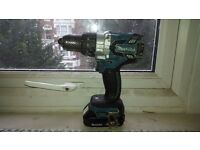 makita xph07/dhp481 brushless drill with battery