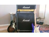 Marshall JCM2000 100w amp head and 1960B speaker cabinet for sale