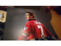 Eric Cantona print 12x16 inch
