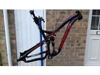 Men's Full suspension Mountain Bike Frameset 2013 NORCO SIGHT