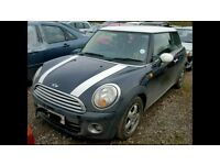 **FOR BREAKING** 2009 MINI COOPERS (CHOICE OF 1.6D & 1.4 PETROL ENGINES).
