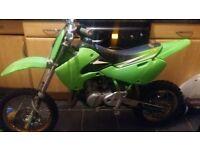 07 kawasaki kx 65 Moto cross