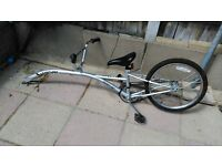 Saferider Tow trailer bike with 20 inch wheel