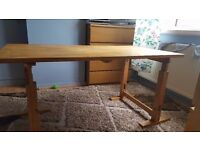 2 LARGE IKEA DESKS