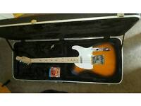 2015 squier telecaster with hardcase