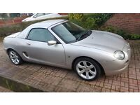 MGF 1.8 vvc 66k. Comes with hardtop and lots of extras.